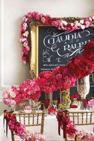 Red Ombré #BRIDESMagazineUK #Valentines #wedding