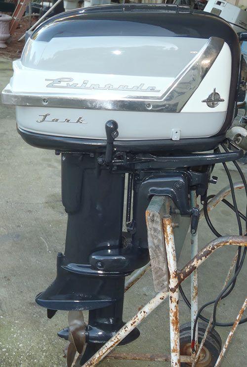 1956 30 hp Evinrude Lark Outboard Antique Boat Motor For Sale