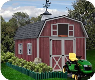 This would work just fine. And as far as barns go, it seems well priced.