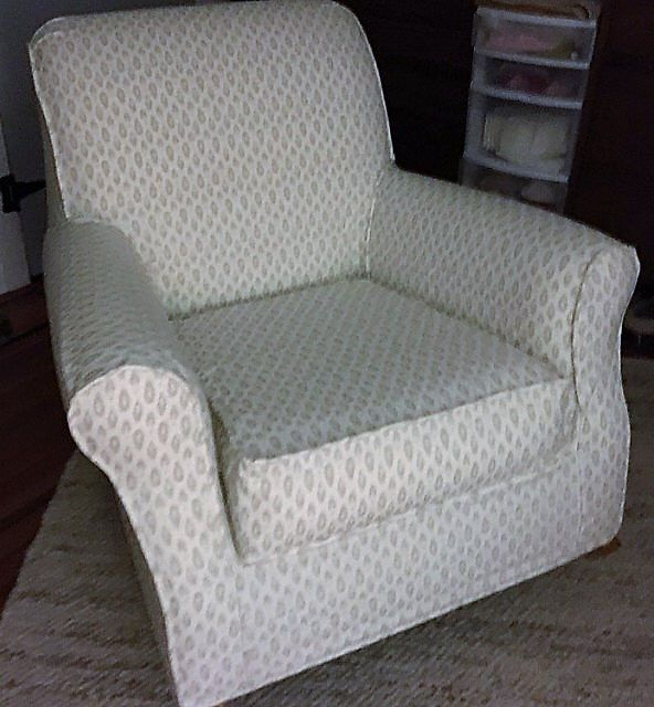 Custom Slipcovers for your Pottery Barn Lullaby Rocker/Glider chair from your own fabric by DIYslipcovers on Etsy https://www.etsy.com/listing/172524454/custom-slipcovers-for-your-pottery-barn