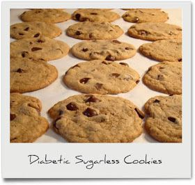 Diabetic Recipes: Diabetic Sugarless Cookies