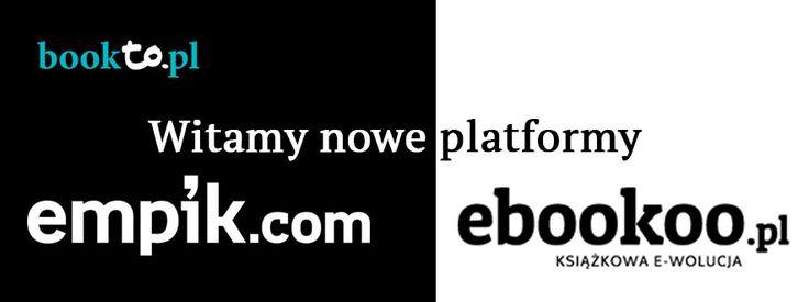 Witamy nowe platformy w naszej porównywarce: Empik.com i Ebookoo.pl
