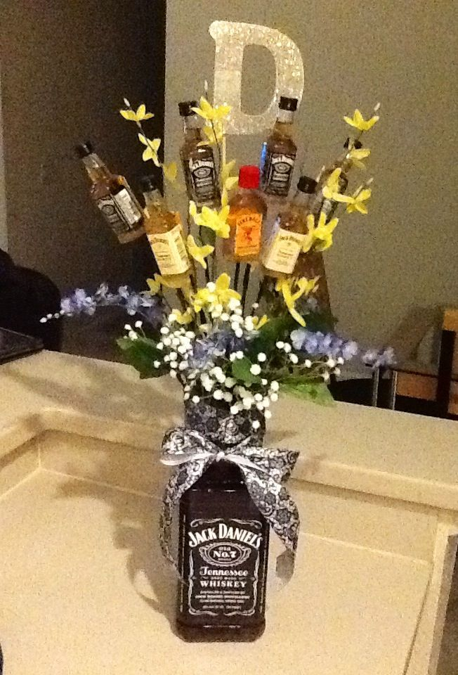 1000 Images About Booze Bouquet On Pinterest Man