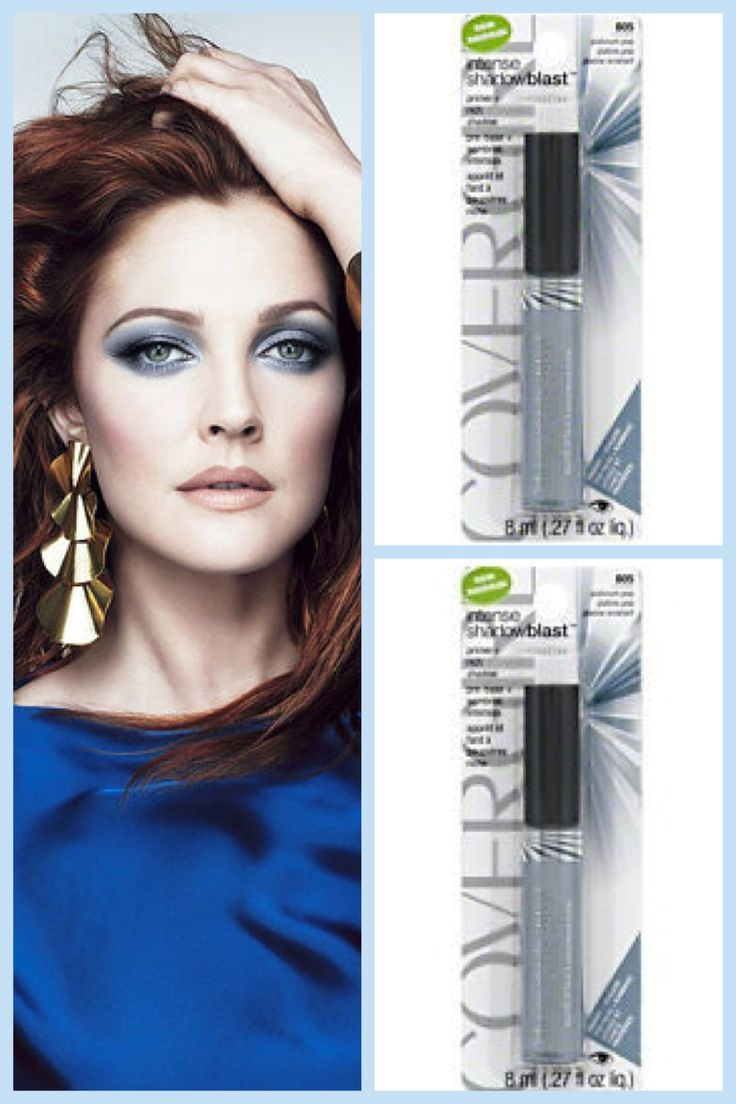 Pack 3- CoverGirl Intense Shadow Blast-805 Platinum Pop. Primer + Rich Shadow.