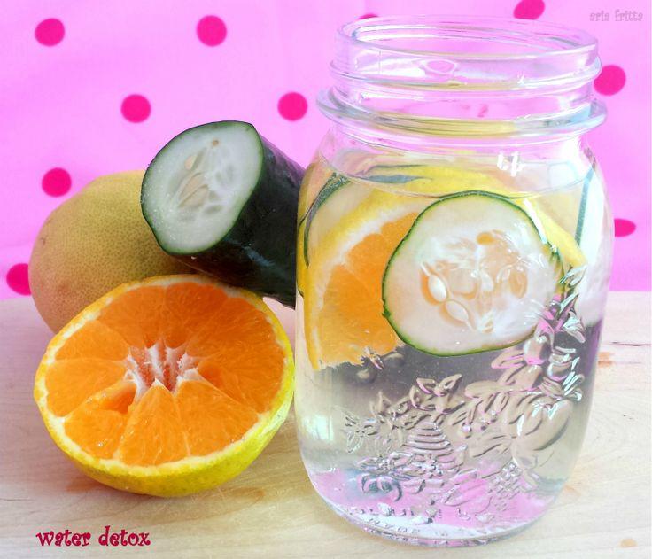 acqua disintossicante - water detox | ARIA FRITTA