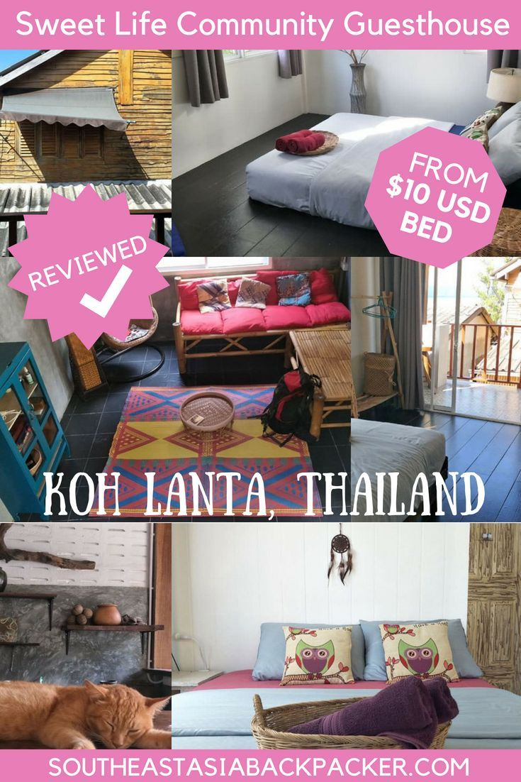 Review Sweet Life Community Guesthouse Koh Lanta Thailand