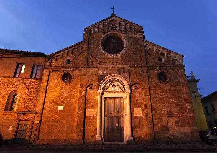 the Cathedral - Volterra - Tuscany #volterra #volterratur