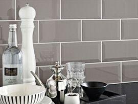thinking about replacing the orange (yuk) kitchen splash back tiles with these....