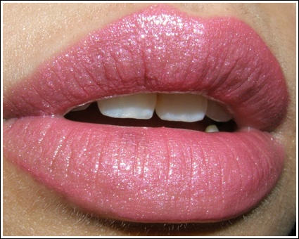 MAC Sweetie Just bought this last night - LOVE IT  I wanted a bright but not garish pink.  Tried a lot and this is perfect. Not fake looking at all, sheerish and bright.