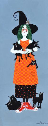Ivy Loves Cats | Ann Thompson