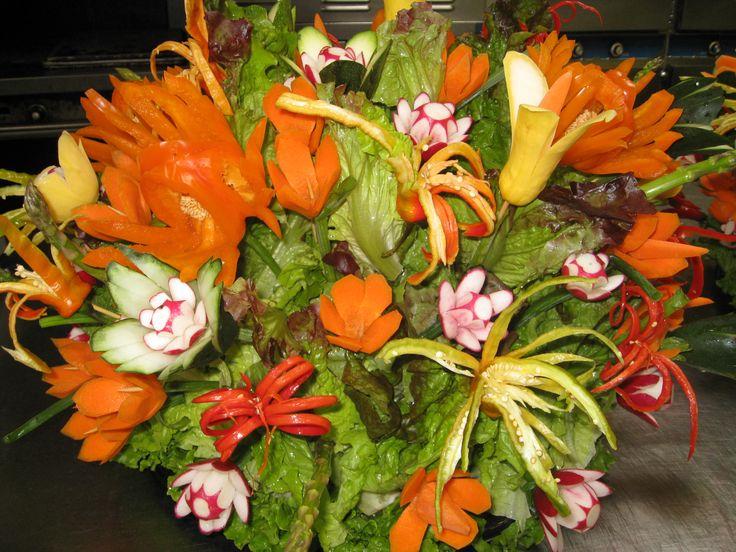 fruit center pieces | Amazing Fruit and Vegetable Centerpieces