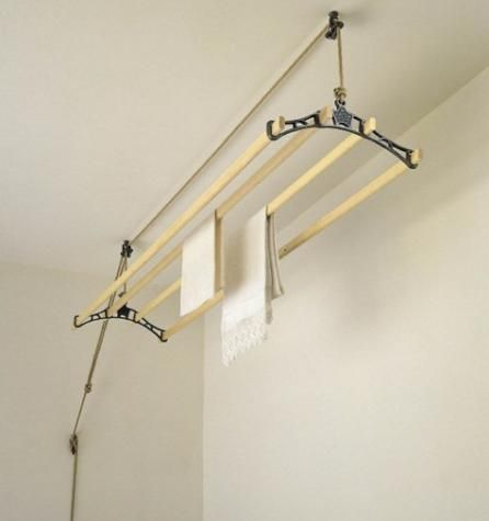The ENERGY SAVING 'Sheila Maid'® uses the 'Original Curved Shape' cast iron rack ends - part of the British household over 100 years. It comes complete with 4 wooden rails, single pulley, double pulley, cleat hook and 10m jute rope.