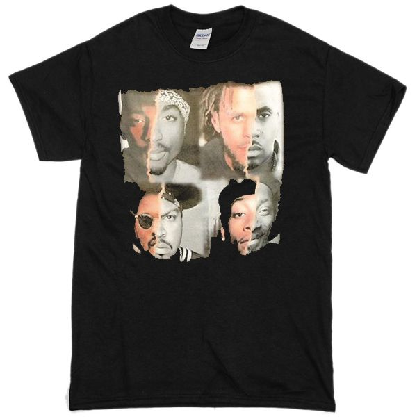 White Snoop Dogg T-shirt