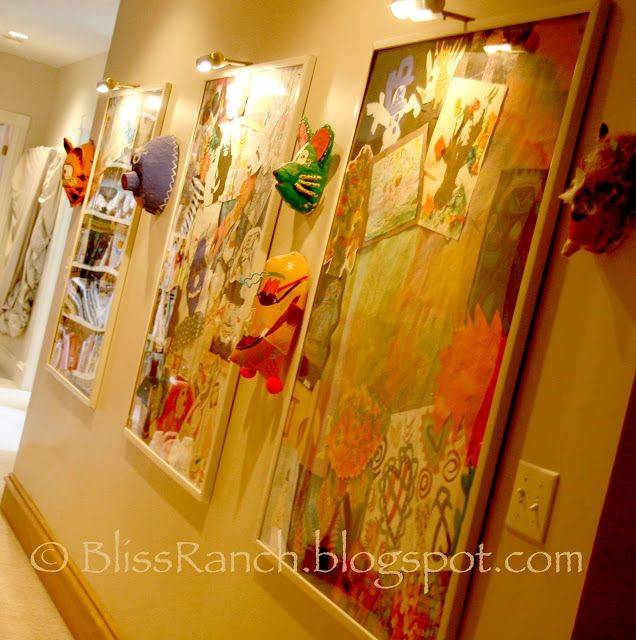 64 best Children\'s Art Display images on Pinterest | Display ideas ...