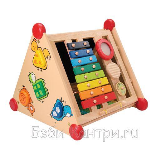 Игрушка развивающий центр деревянная I'm Toy 22052