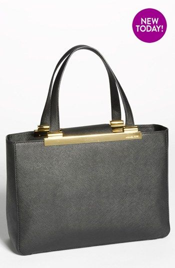 MICHAEL Michael Kors \u0026#39;Tilda - Large\u0026#39; Saffiano Leather Tote (Online Only) available