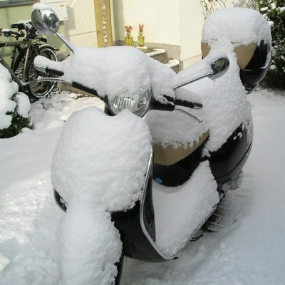Vespa Winter #VespaSnow