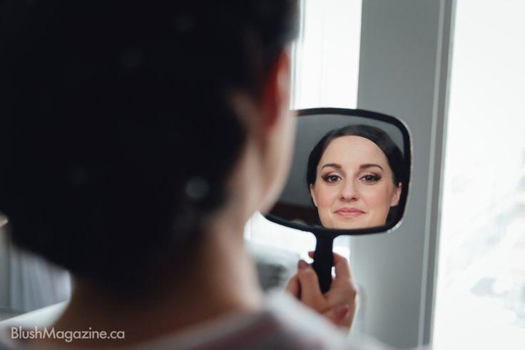 Modern Ukranian Winter Wedding. Getting Ready, Bridal Makeup