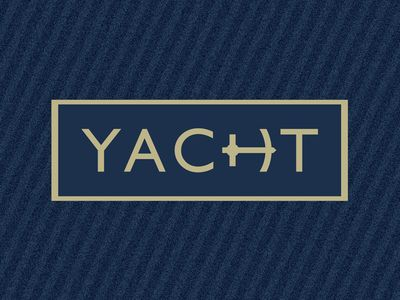 yacht logos typography and typo