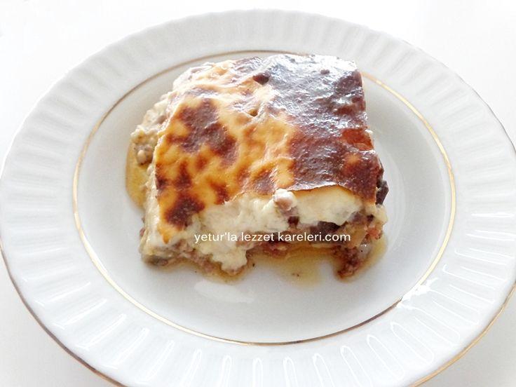 yetur'la lezzet kareleri: yunan musakkası (yunan mutfağı)