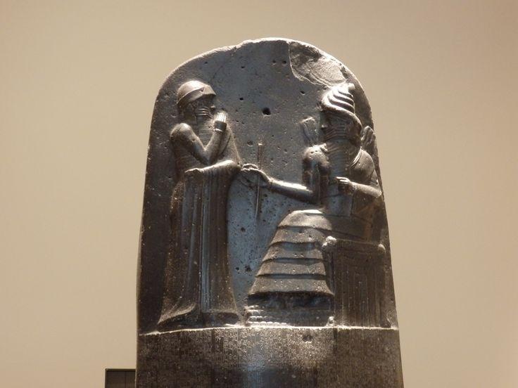 Código de Hamurabi. Louvre