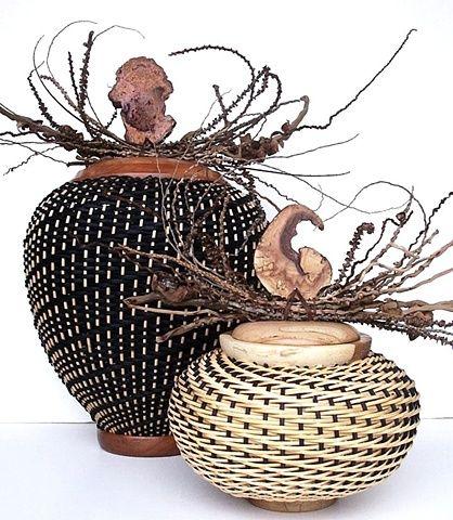 288 best art baskets bowls weaving images on pinterest