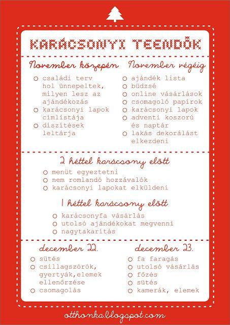 Otthonka: Karácsonyi készülődés
