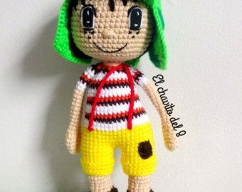 El Chavo Del Ocho Doll Amigurumi by CREATIONSOFCASTY on Etsy