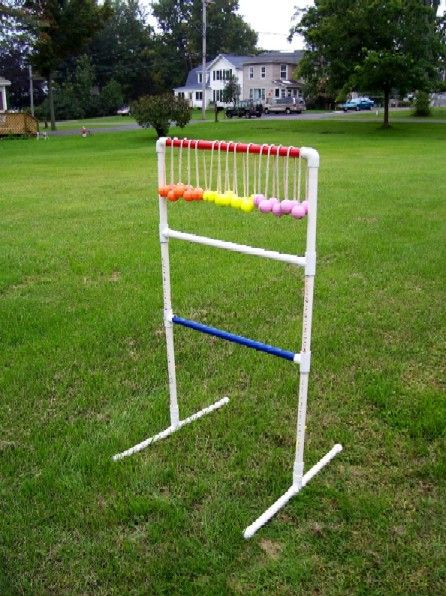 Ladder golf. With instructions to build your own.