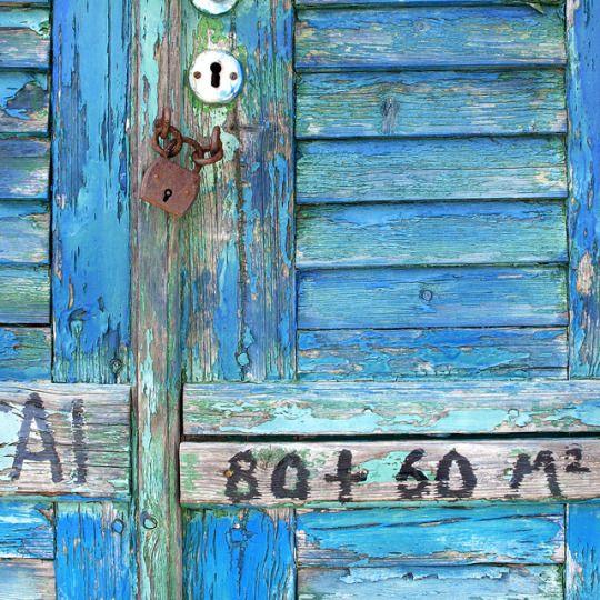blue door, old door, traditional village, greece, tinos island, aegean islands . photo : Alexandra Papadimouli for theRoundButton