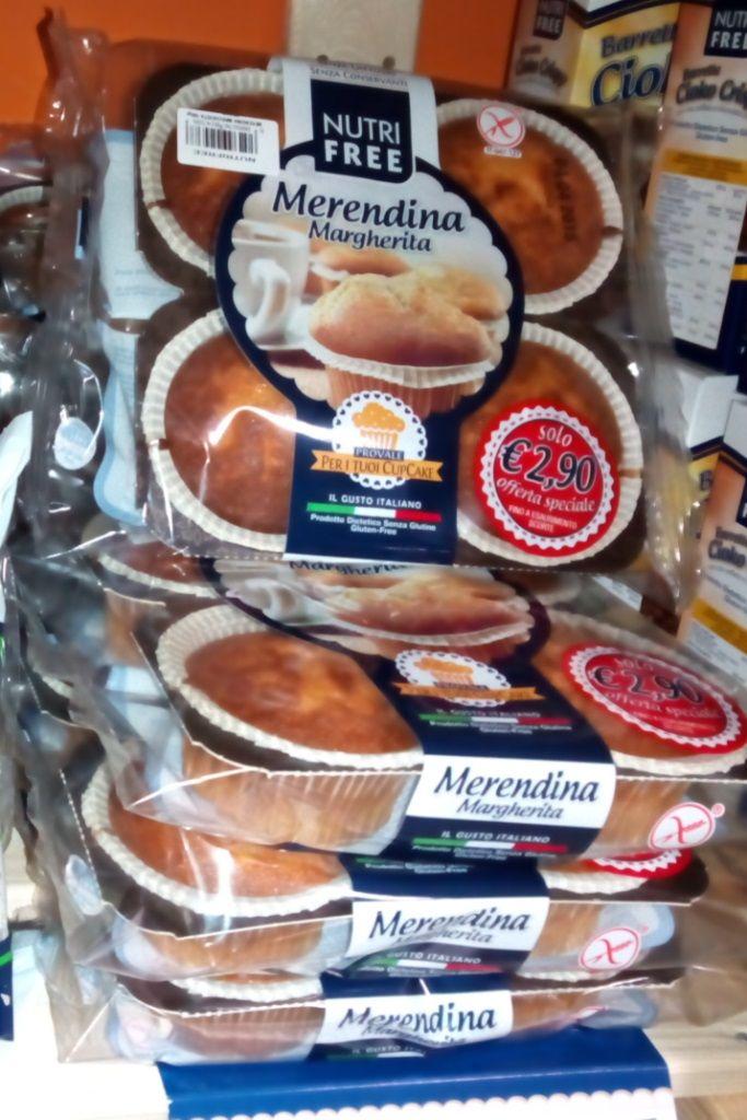 Merendine #Margherita @nutrifree in offerta