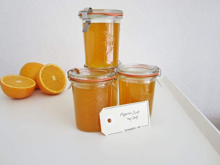 Lækker appelsin sirup