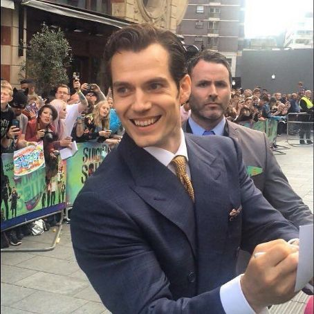 Henry Cavill- July 9, 2016- Fans Meet Henry in London - FamousFix