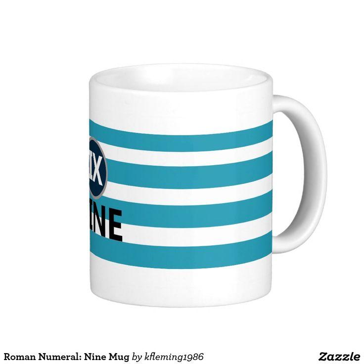Roman Numeral: Nine Mug