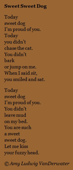 The Poem Farm: Sweet Sweet Dog - Love Poems | growing ...