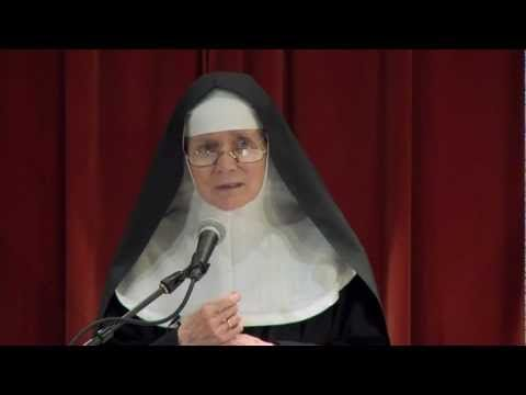 """Mother Dolores Hart, """"Jesus the Actor"""" at Franciscan University.....INCREDIBLE TALK!!! :]"""