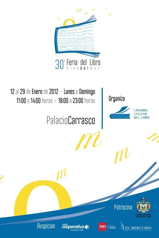 Viña del Mar Bookfair 2012 design