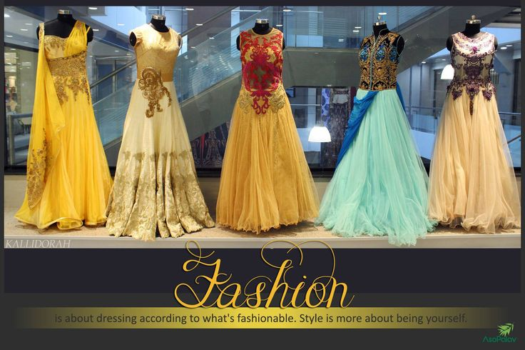 Be yourself! #Wedding attire from #Asopalav !  #Asopalav #Ahmedabad #Fashion #FemaleFashion