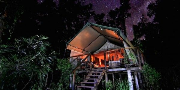 Hidden luxury in a paperbark forest Paperbark Camp, Jervis Bay, NSW After ulladulla