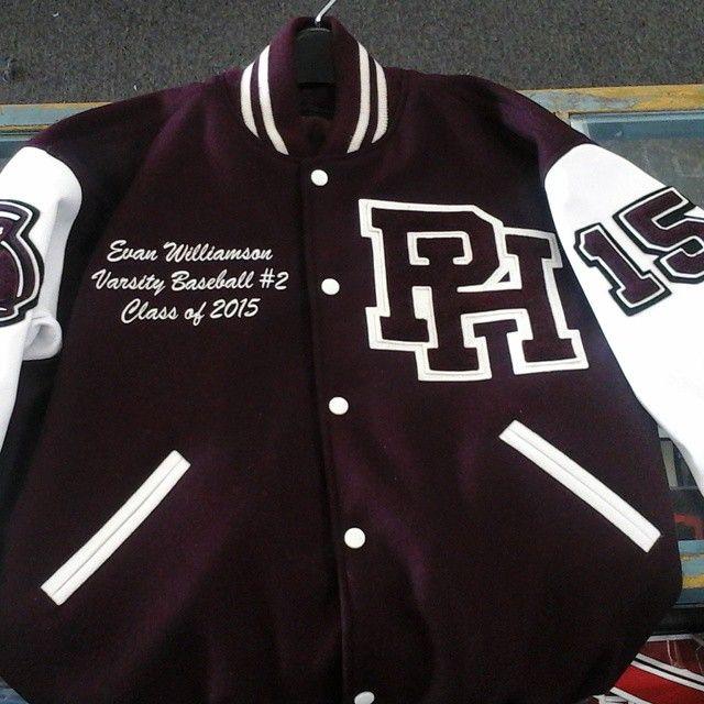 Another Piedmont Hills High School varsity jacket