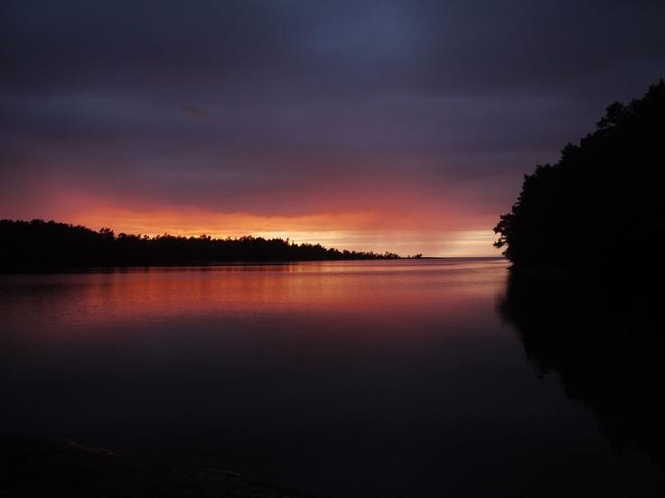 Djupviken - a wild anchorage in northern Åland