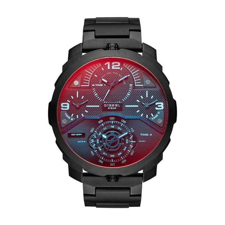 Diesel DZ7362 Machinus Black Stainless Steel Men's Watch