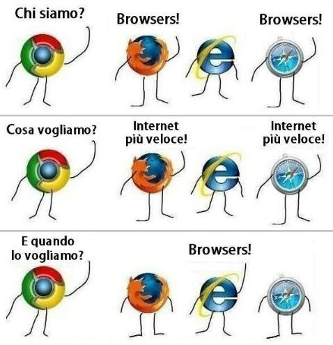 Joke about browsers