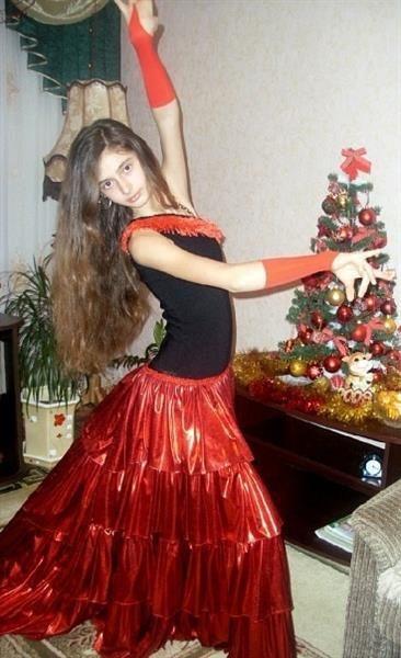 Как сшить испанское платье