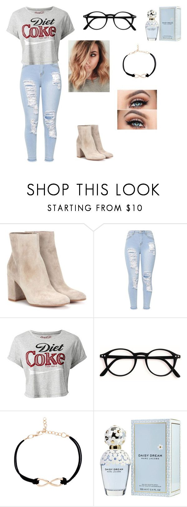 """""""Untitled #120"""" by sunnyloveday99 ❤ liked on Polyvore featuring Gianvito Rossi and Marc Jacobs"""