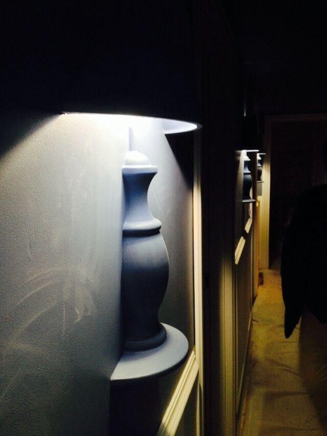 """Lampada a muro in gesso """"Glamp"""" #beautifull #design #arredamento www.bragliacontract.com"""