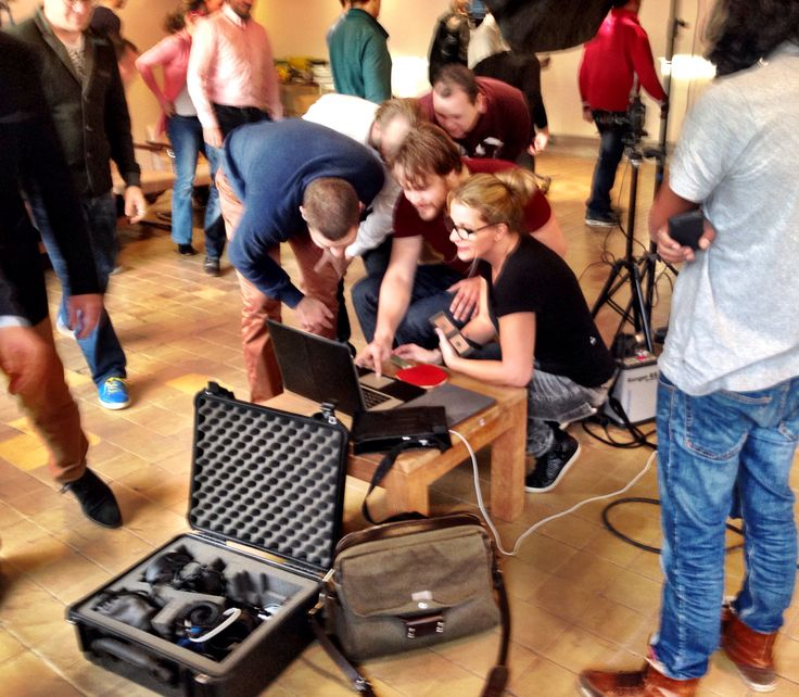 Styling & Make-up voor Have A Nice Day online, met United Studios #Working hard;)