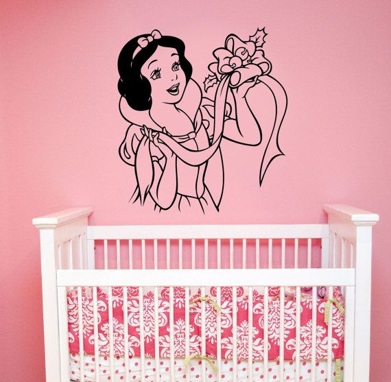 Snow White Wall Sticker Vinyl Decal Seven Dwarfs Disney