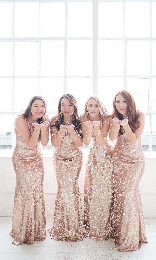 15+ Rose gold bridesmaid dress info