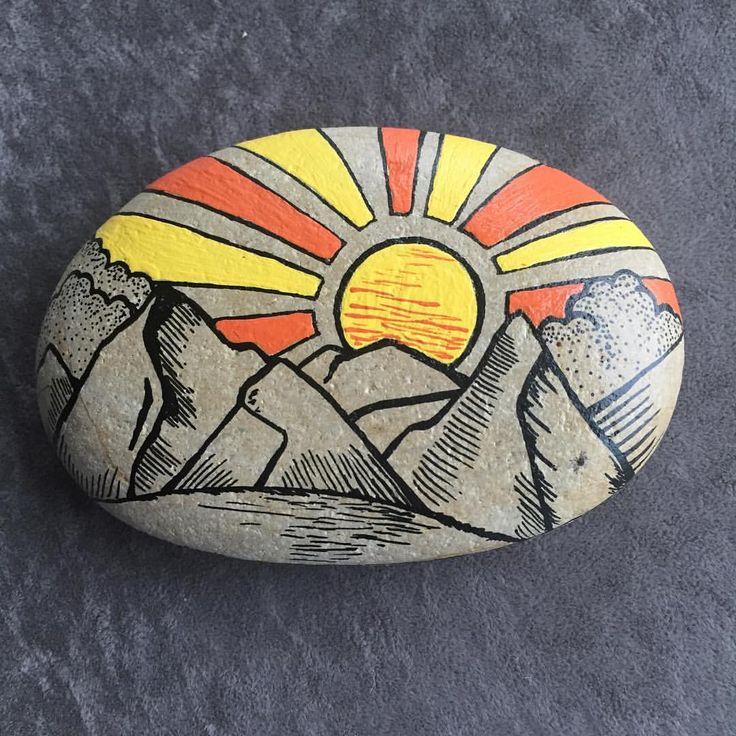 # stone painting #design #stones # order #design #de …